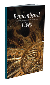 Image of the front cover of 'Remembered Lives'