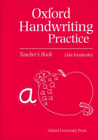 Image of the front cover of 'Oxford Handwriting Practice'