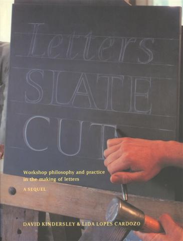 Image of the front cover of 'Letters Slate Cut'
