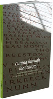 Image of the front cover of 'Cutting Through the Colleges'